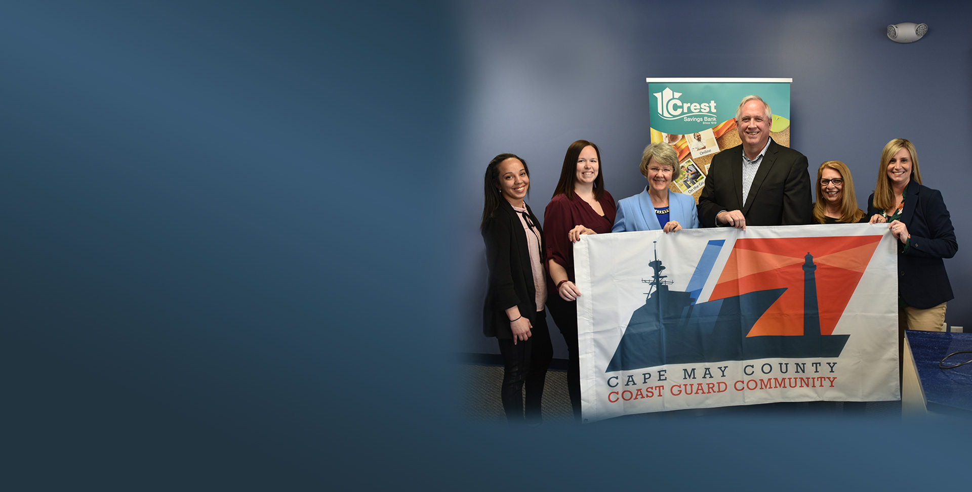 Crest Savings Coast Guard Hometown Hero