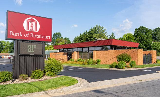 Bank of Botetourt Roanoke, Peters Creek Branch