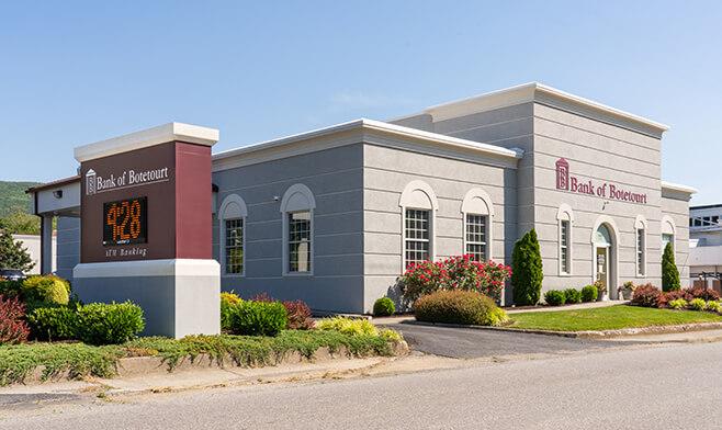 Bank of Botetourt Troutville Office